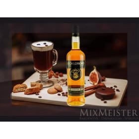 Irish coffee drinkspakke, med whisky, glas og sugerør