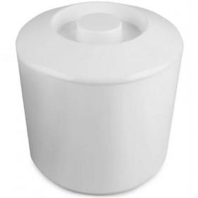Isspand 4 L. Cylinder - Hvid Plast
