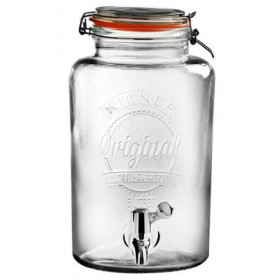 Kilner Drinks dispenser m. tappehane Orginal - 5 Liter