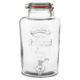 Kilner Drikkevare Dispenser m. hane Orginal - 8 Liter