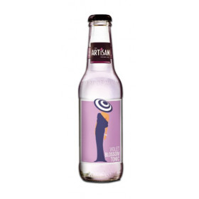 Artisan violet blossom tonic water 20 cl. - Ink. pant