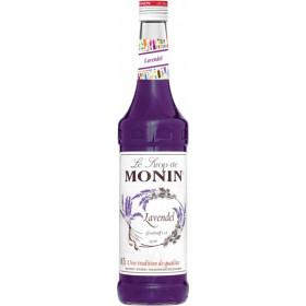 Monin Lavendel Sirup 70 cl - inkl pant