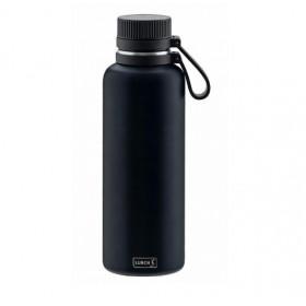 Lurch termoflaske mørke blå - 1 Liter