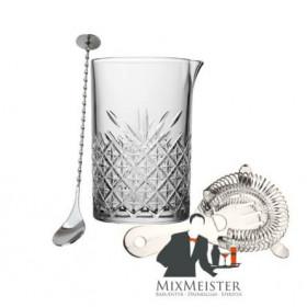 Mixingglas med barske og strainer - Mix-Meister Barsæt