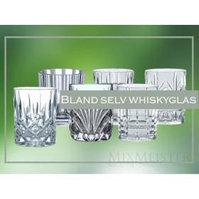 Bland selv whiskyglas fra Nachtmann