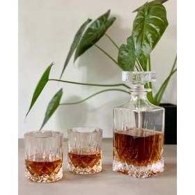 RCR Opera whiskyglas og decanter i gaveæske