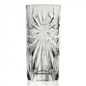 8 x Oasis highball drikkeglas i krystal fra Rcr