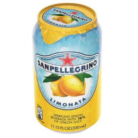 San Pellegrino Citron Sodavand 33 cl - Inkl pant