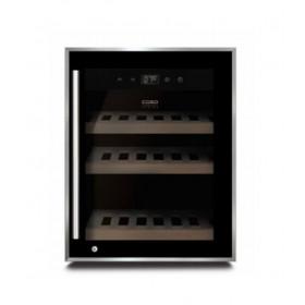 Caso sort wine safe vinkøleskab til 12 flasker