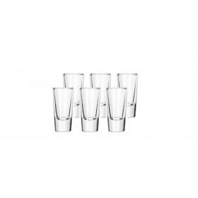 6 x Tequila Shooter shotglas - 3 cl.