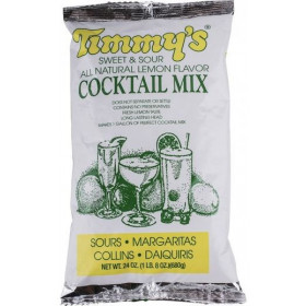 Timmy's sweet and sour cocktail mix