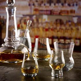 6 x Urban Bar perfect dram smageglas til ren spiritus - 9 cl.