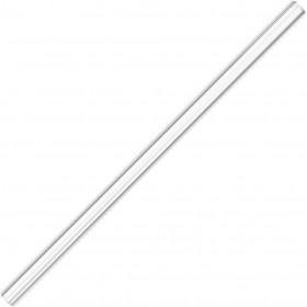Langt glassugerør