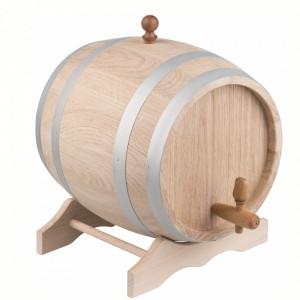 Fadlagringstønde i egetræ - 5 liter