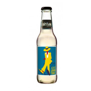Artisan agave lemon tonic water 20 cl. - Ink. pant