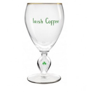 Durobor Irish Coffee glas m. guld kant - 23 cl.