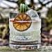 Drink med gin og frisk limejuice
